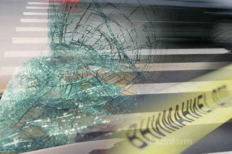 Пьяный акмолинец  сбил пешехода и скрылся с места ДТП