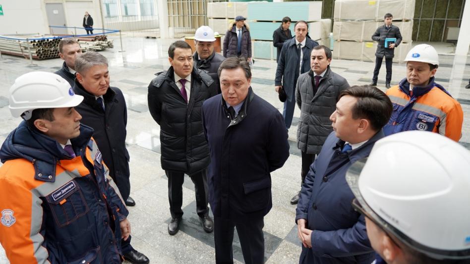 Аскар Мамин провел в Astana Hub совещание по цифровизации