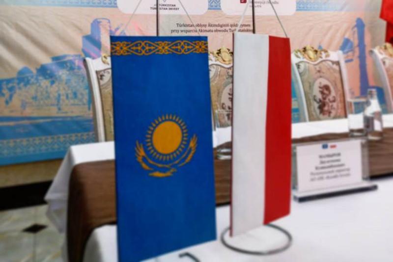В Туркестане прошел казахстанско-польский бизнес-форум