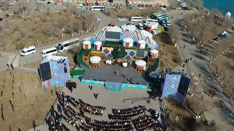 В Атырау прошел международный фестиваль «Көрісу Fest»