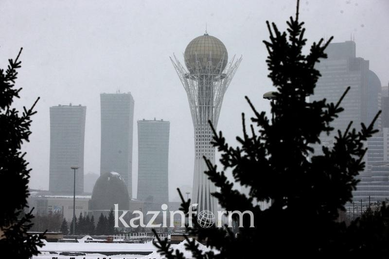 Метель и гололед прогнозируют 15 марта в Казахстане