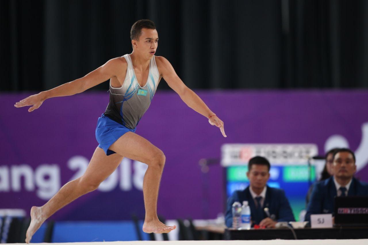 Казахстанец вышел в финал этапа Кубка мира по спортивной гимнастике