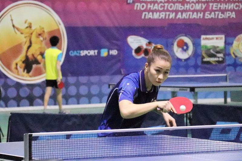 В Шымкенте завершился международный турнир по настольному теннису