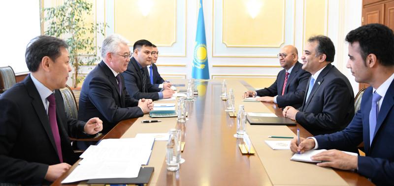 Перспективы казахстанско-афганского сотрудничества обсудили в МИД РК