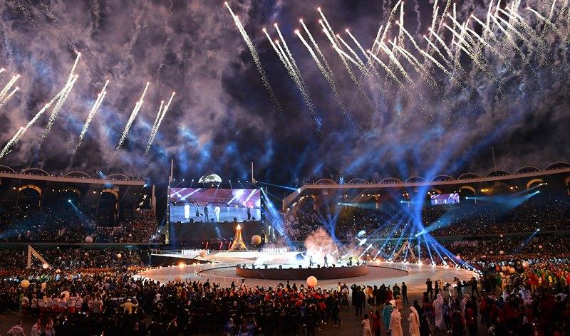 Президент РК принял участие в открытии Всемирных специальных Олимпийских игр в ОАЭ