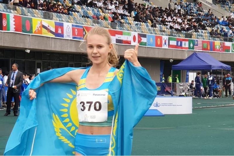 Kazakh athlete pockets silver at Asian Youth Championship