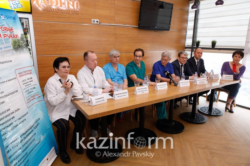 Иностранные нейрохирурги провели в Алматы мастер-классы по коррекции детей с ДЦП