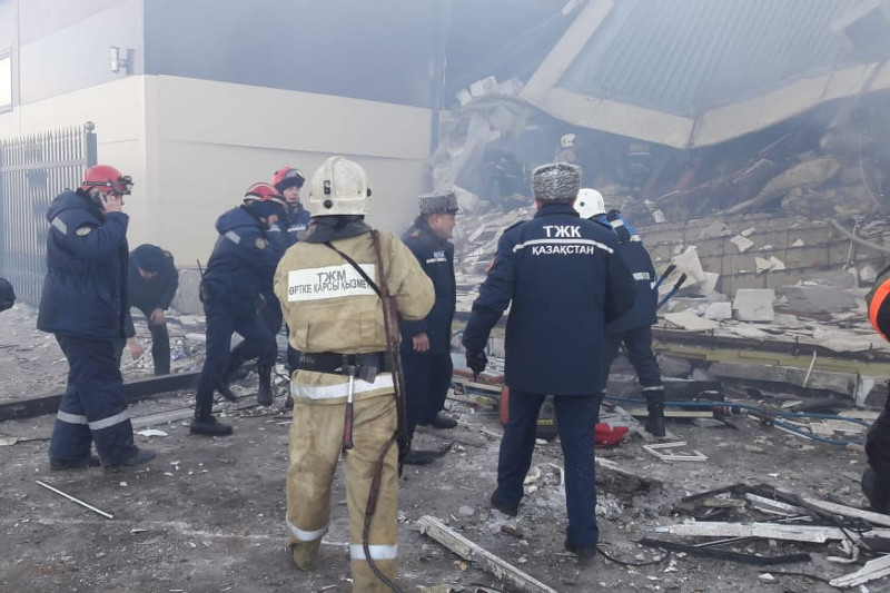 Взрыв в Астане: стало известно о состоянии третьей пострадавшей