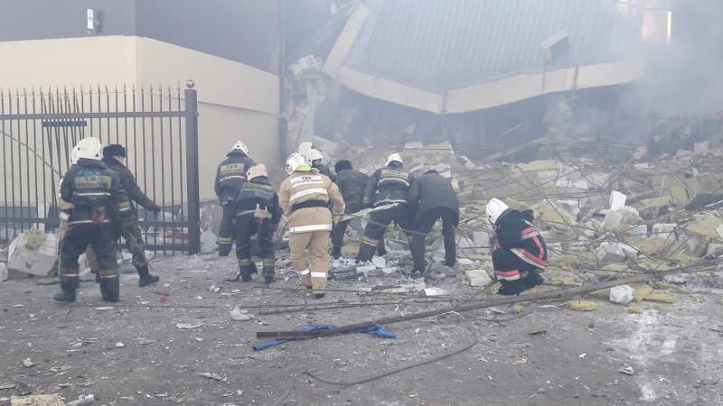 Взрыв здания в Астане: тело женщины обнаружили под завалами