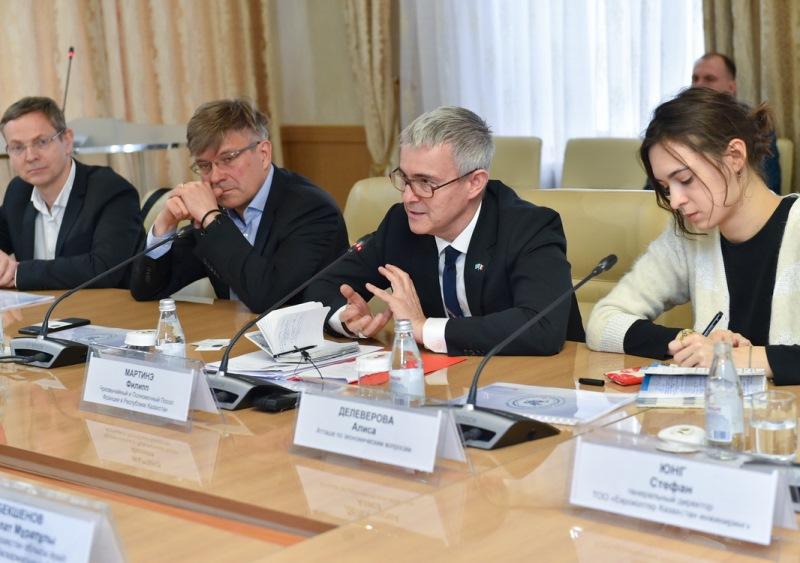 French entrepreneurs ready to invest EUR 200 million in N Kazakhstan