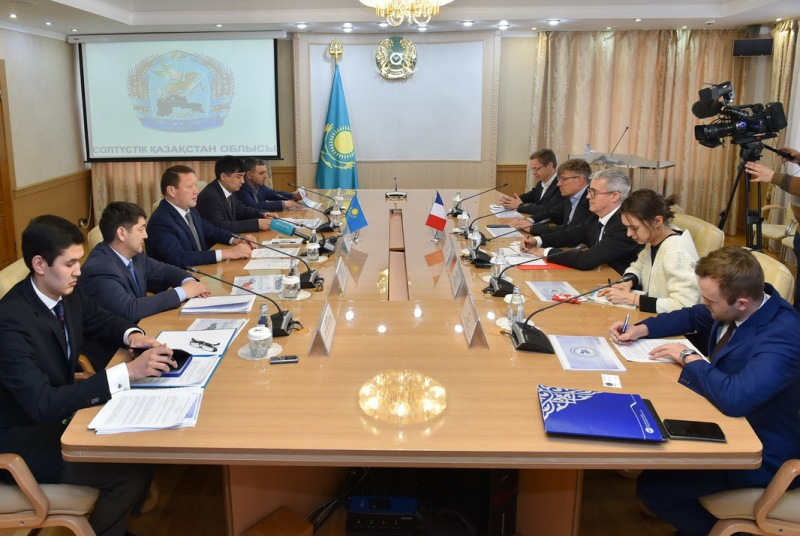 French entrepreneurs ready to invest EUR 200 million in N Kazakhstan