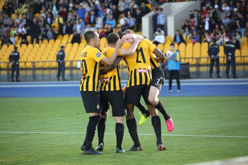 «Кайрат» выиграл во втором матче чемпионата страны