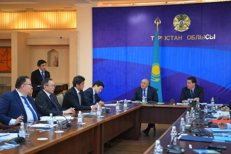 Премьер-Министр РК провел совещание по вопросам развития Туркестана