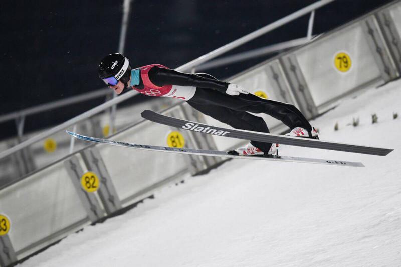 Сергей Ткаченко установил новый рекорд Казахстана в прыжках на лыжах с трамплина