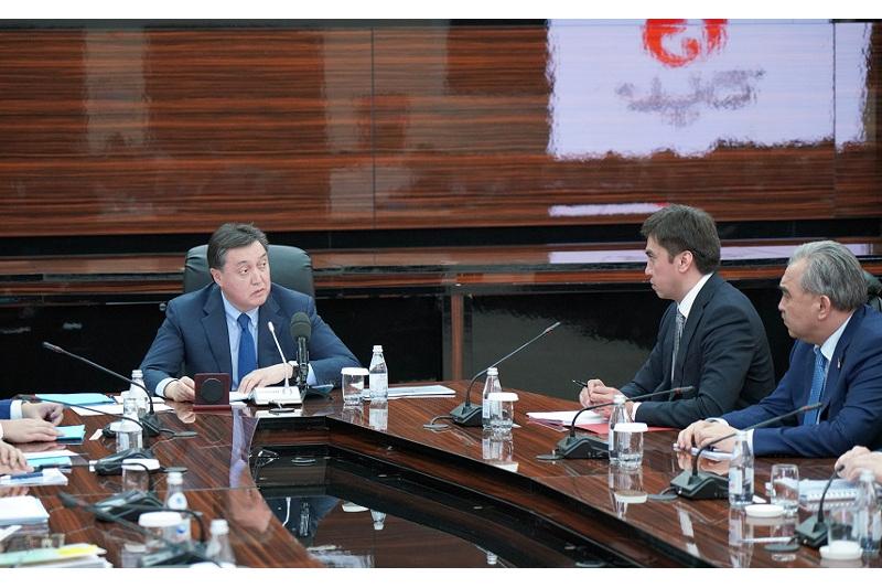 Премьер РК поручил в кратчайшие сроки принять План развития и застройки Шымкента