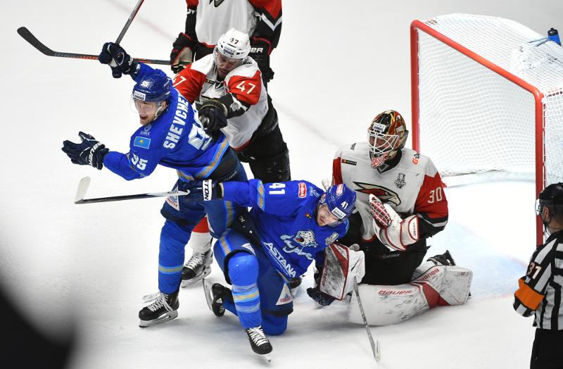 «Барыс» - самая результативная команда плей-офф КХЛ