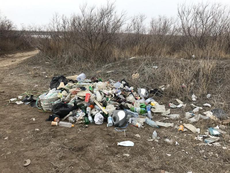 52 тонны мусора и 4,3 тонны мертвой рыбы собрали на субботнике  в Атырау