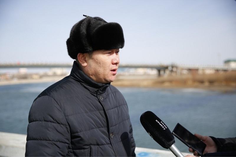 В Атырау  исследуют состояние реки Урал