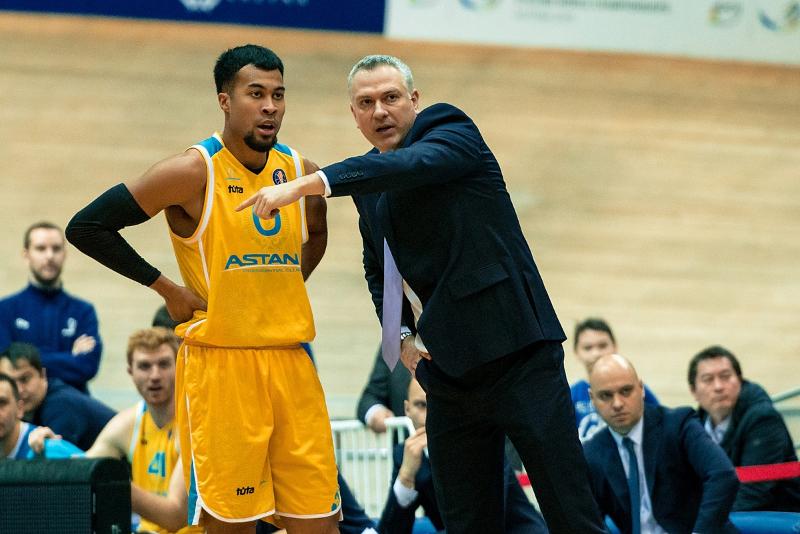Баскетболисты «Астаны» гарантировали себе место в плей-офф