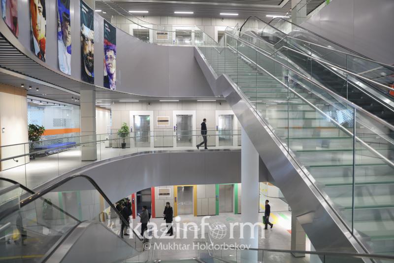 阿斯塔纳世博园内的新IT大学将于今年9月开业