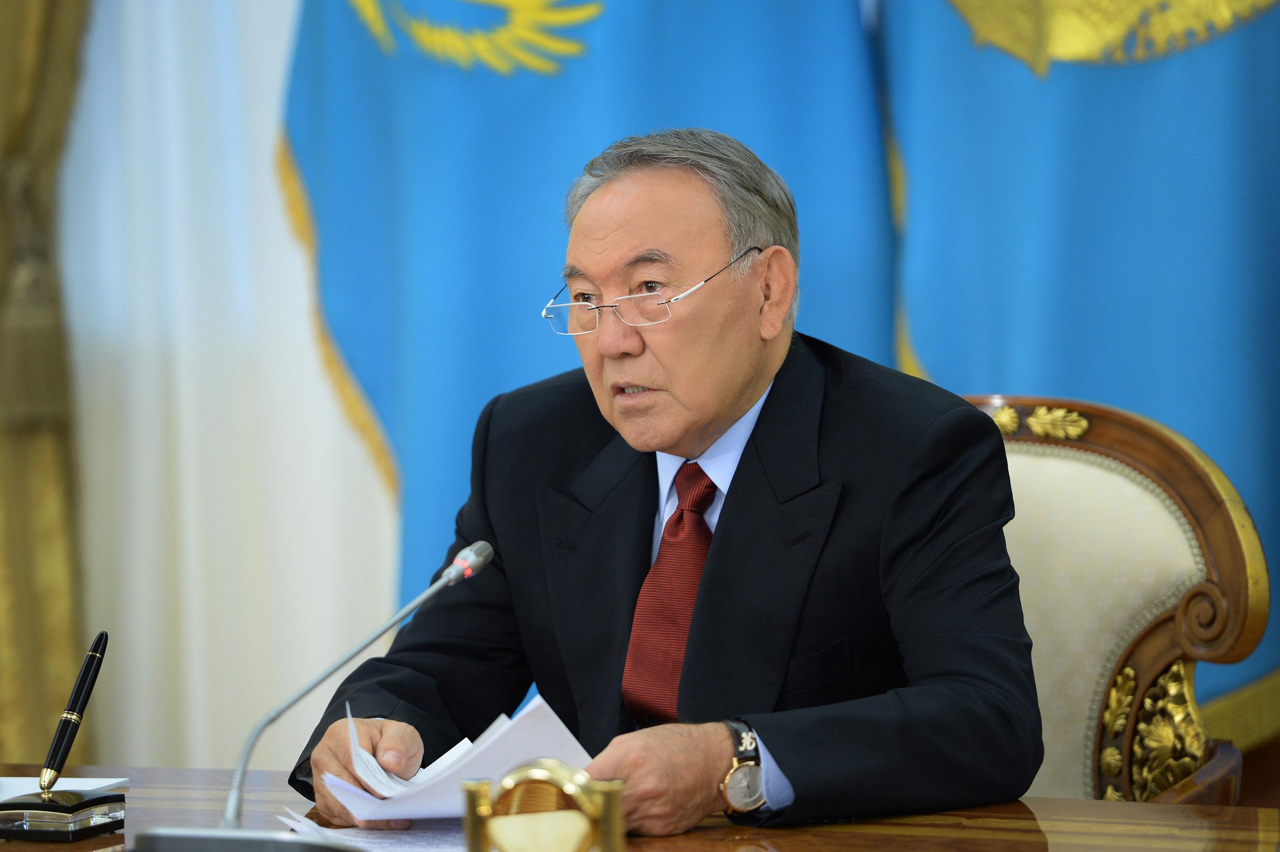 Как Президент Казахстана я принял решение о сложении полномочий - Нурсултан Назарбаев