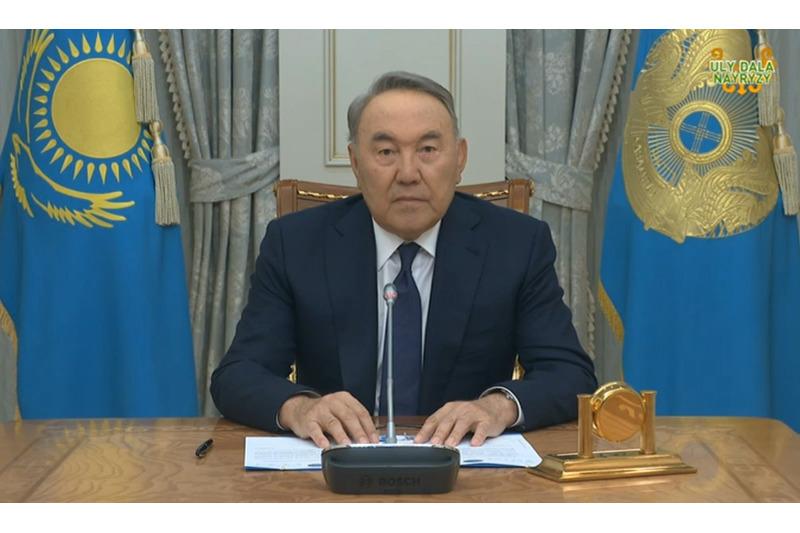 Президенттік  өкілеттігімді тоқтату туралы шешім қабылдадым - Нұрсұлтан Назарбаев