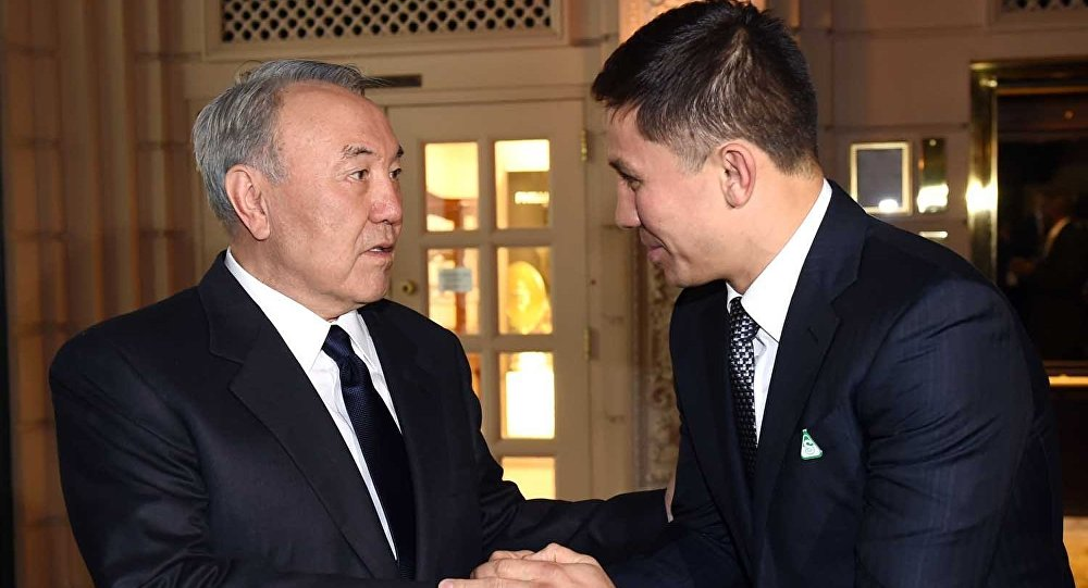 Gennady Golovkin: Thank you Mr President for the strong nation