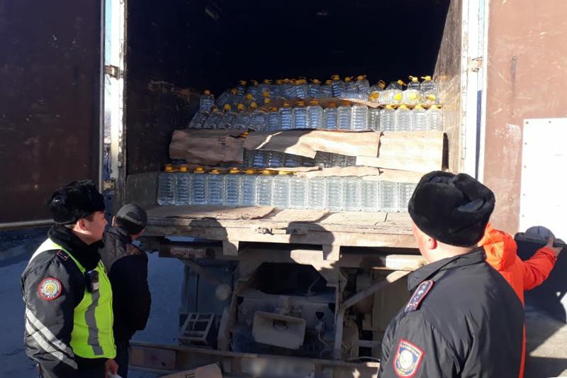 10 тонн контрафактного алкоголя изъяли полицейские ВКО