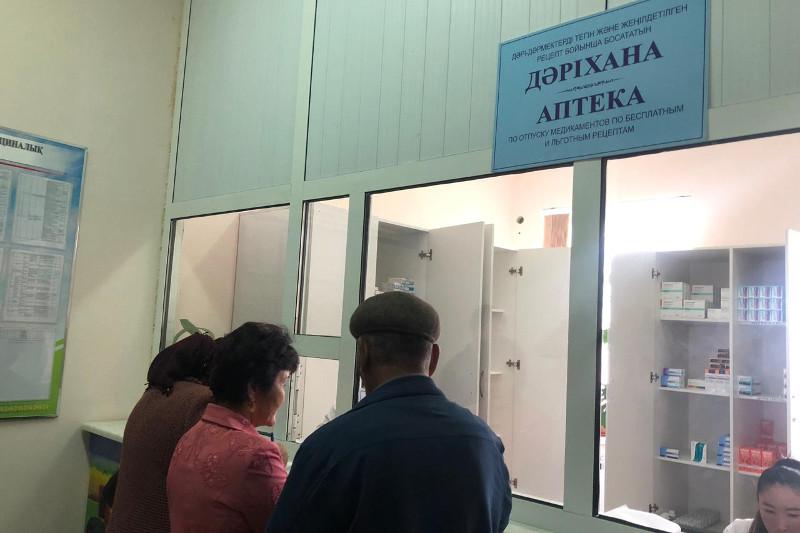 Получать бесплатные лекарства в поликлинике смогут шымкентцы