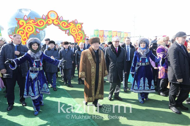 Yelbasy and President attend Nauryz celebrations in Astana