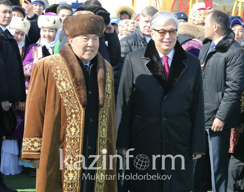 Елбасы и Президент приняли участие в праздновании Наурыза в Астане