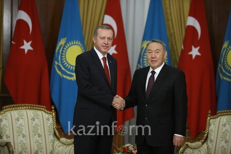 Turkey's Erdogan wishes Nursultan Nazarbayev Happy Nauryz