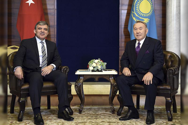 Nursultan Nazarbayev, Abdullah Gül exchange Nauryz greetings