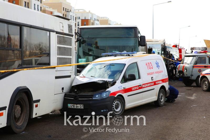 Новые подробности смертельного столкновения автобусов в столице