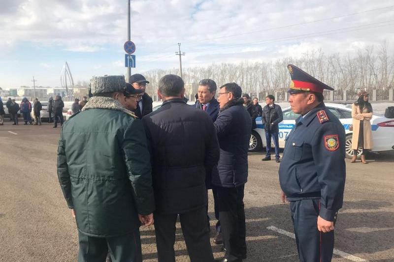 Бахыт Султанов приехал на место смертельного ДТП