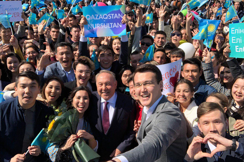 Нурсултан Назарбаев прибыл в Алматы
