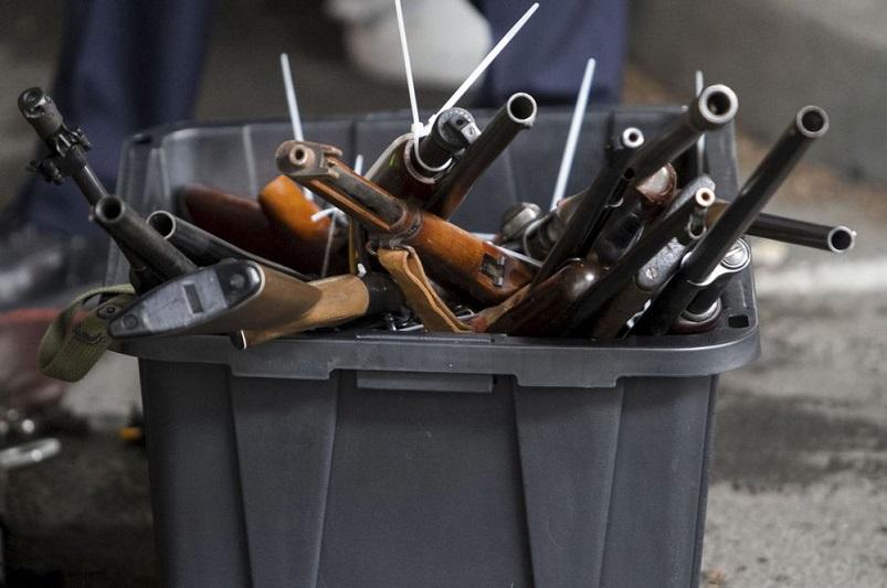 24 ружья и пистолет «Вальтер» сдали жители Атырауской области