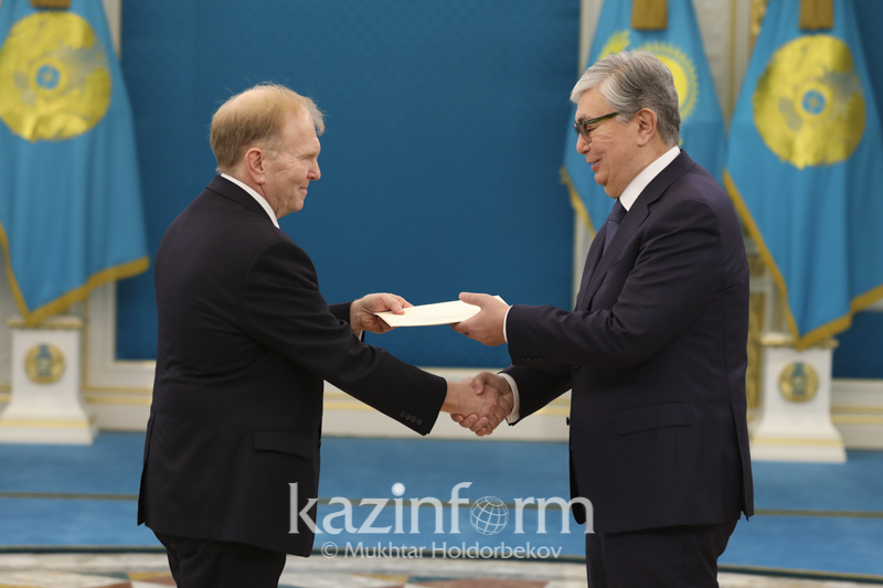 New U.S. Ambassador presents credentials to Kassym-Jomart Tokayev