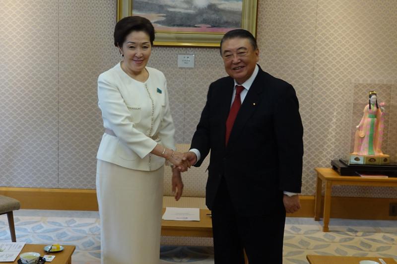 Казахстан и Япония намерены расширять межпарламентское сотрудничество