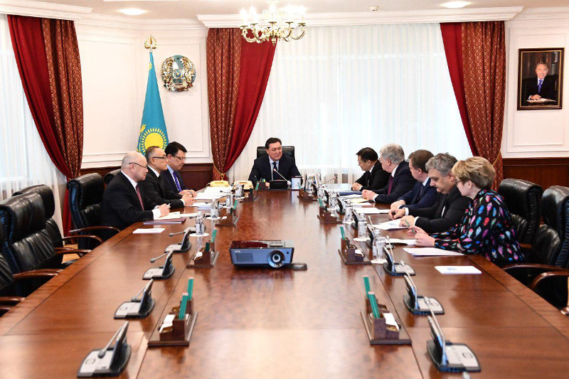 Kazakh PM, Rosatom director general had talks