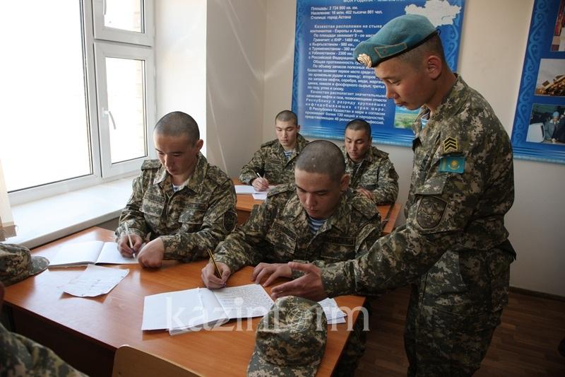 Систему взаимопарного контроля внедрили в казахстанской армии