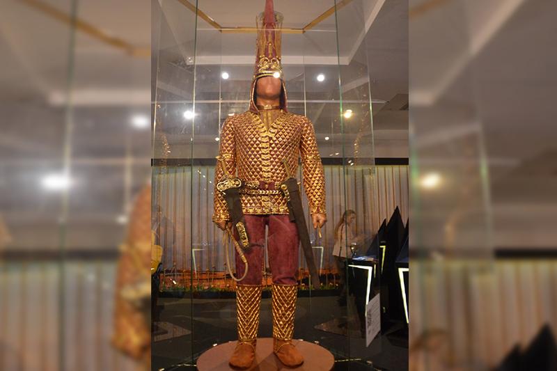 'Golden Man' to be showcased in Tashkent