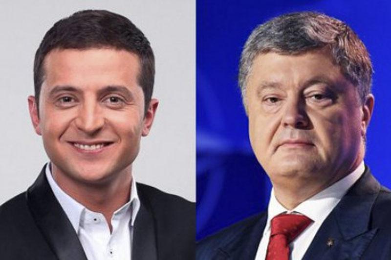 波罗申科承认败选 恭喜泽连斯基获胜