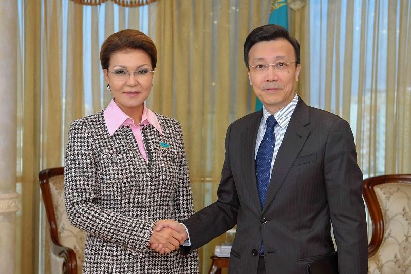Дарига Назарбаева приняла посла КНР