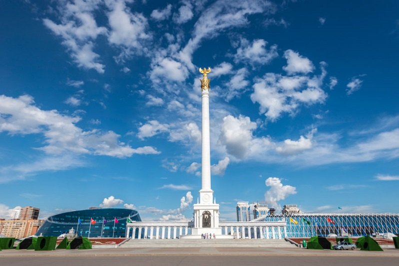 Историю становления Казахстана и столицы представили в мультимедийном формате