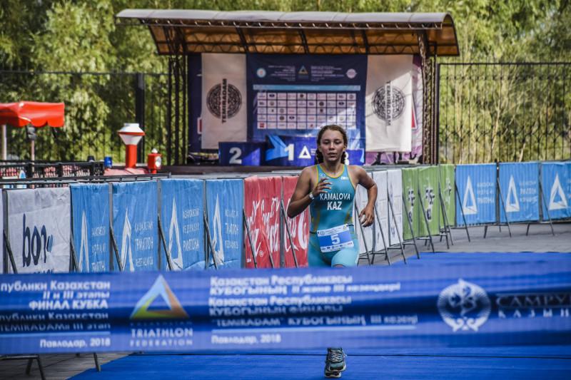 Казахстанка стала первой на Кубке Африки по триатлону