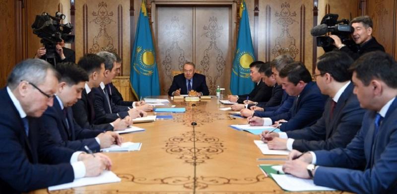 Мы все должны работать во благо Казахстана - Нурсултан Назарбаев