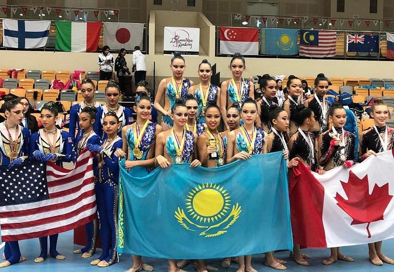 Дочь Самата Смакова выиграла Кубок четырех континентов и Singapore Cup