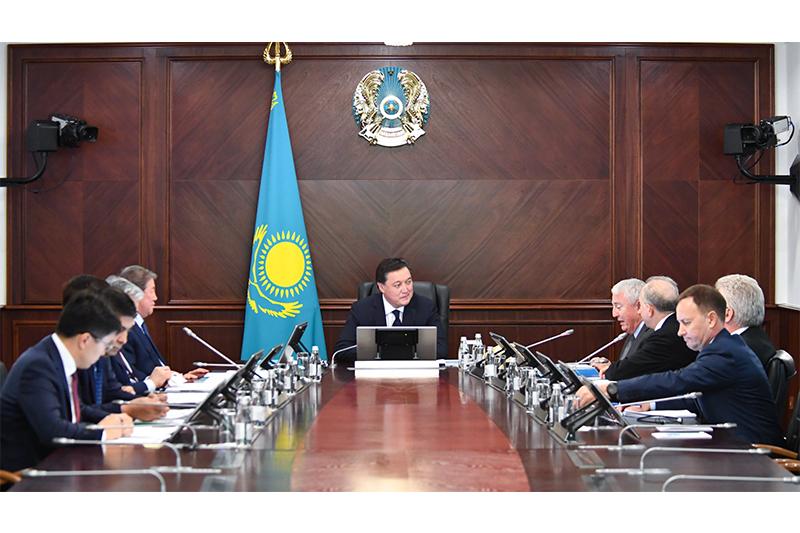 政府总理主持召开萨姆鲁克-卡泽纳国家基金董事会会议