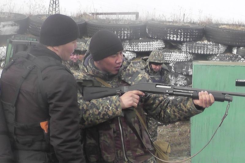 Гвардейцы и спецназ провели учения на востоке Казахстана